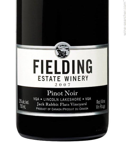 Fielding Estate Winery Jack Rabbit Flats Vineyard Pinot Noir